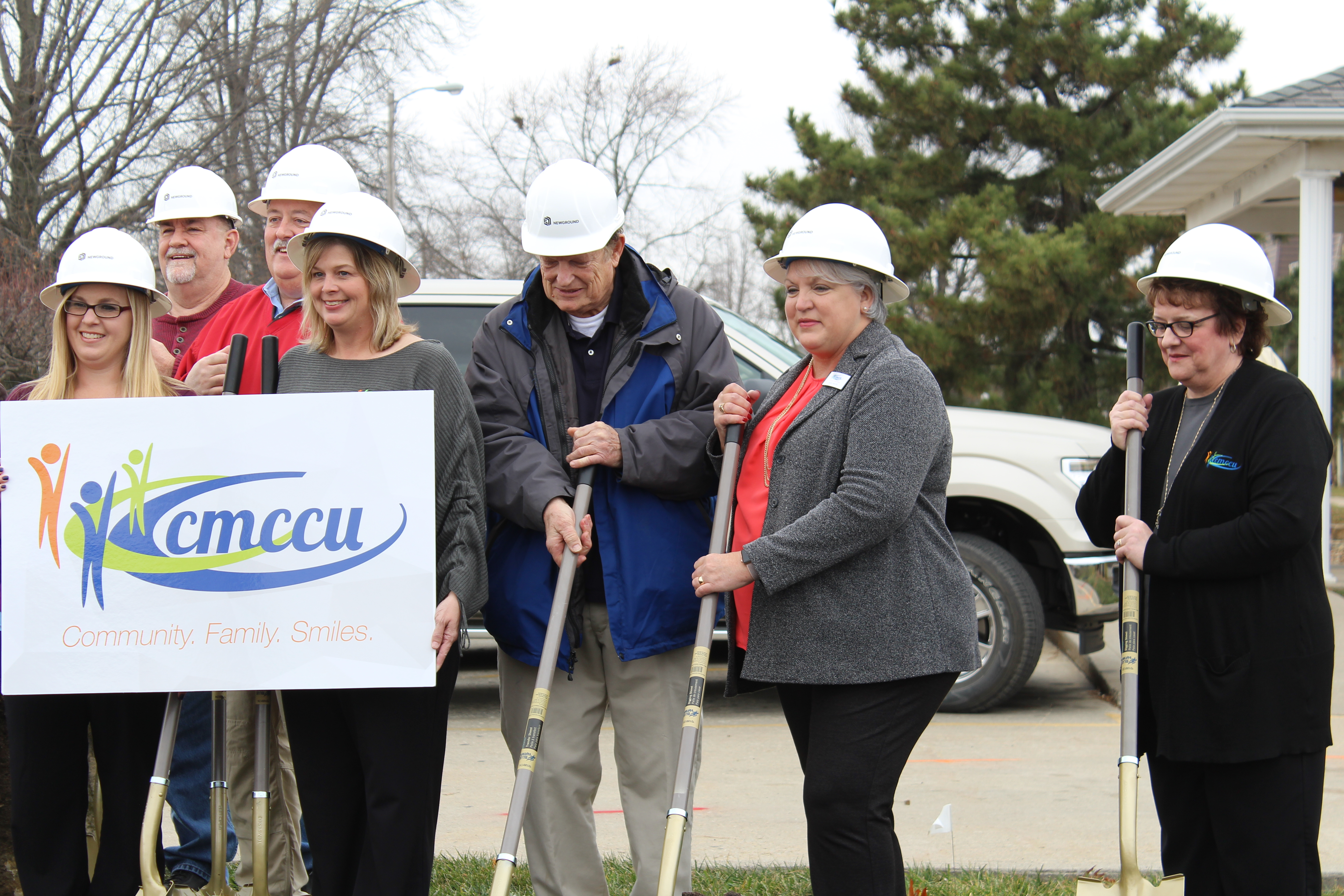 Ground Breaking at the Sedalia Expansion Project